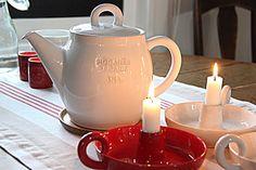 Pikkutalon elämää: Höganäs keramik teepannu