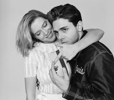 Léa Seydoux and Xavier Dolan by Shayne Laverdiere for Madame Figaro, 13th May 2016.