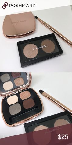 1eb9d3112ec Bare Minerals and MAC eyeshadow palettes and brush Bare Minerals and MAC  eyeshadow palettes and brush