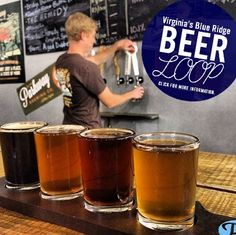 Virginia's Blue Ridge Beer Loop | A self-guided trail of breweries in the Roanoke Valley