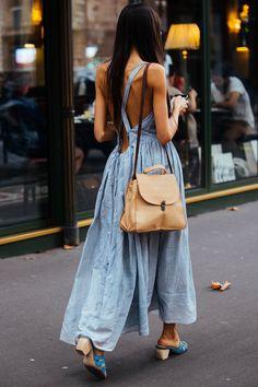 , Streetstyle на Неделе моды в Париже. Часть 2