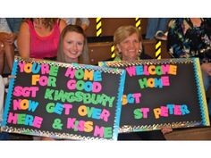 Love the neon colors against the black background!  Homecoming sign idea