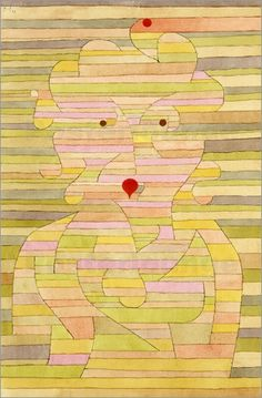 Paul Klee - Portrait of Mrs Gl.