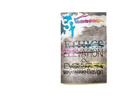 Ethics, Elevation, & Evolution // Magazine Design by Dan Beckemeyer, via Behance
