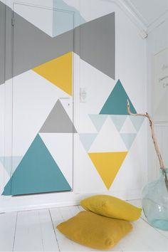 Ideeen voor een zomerse muur