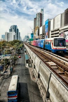 Transport is cheap and easy in Bangkok one of the cheapest cities to get around in - Bangkok,Thailand #Travel #Backpacking