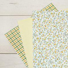 Trio láminas Fabric A4, textil adhesivo, Enfant