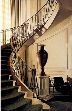 Staircase. ~Grand Mansions, Castles, Dream Homes & Luxury Homes ~Wealth and Luxury