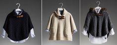 Capas niña Massimo Dutti. Colección otoño-invierno 2013/2014