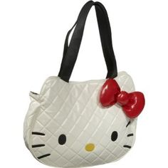 Loungefly Hello Kitty Black Quilted Face Bag $39.55
