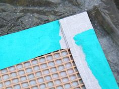 How to Turn a Canvas Drop Cloth Into an Outdoor Rug DIY+Network+has+instuctions+on+how+to+make+an+outdoor+rug+from+a+painter's+drop+cloth,+paint+and+stencils. Drop Cloth Rug, Canvas Drop Cloths, Painted Floor Cloths, Painted Rug, Painted Floors, Outdoor Flooring, Diy Flooring, Drop Cloth Projects, Adirondack Furniture