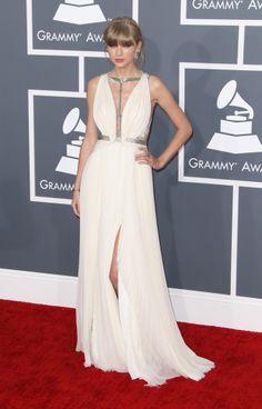 Taylor Swift in J. Mendel dress