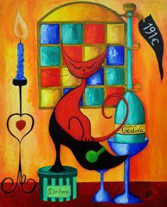 Le Chat Rouge Lady Godiva