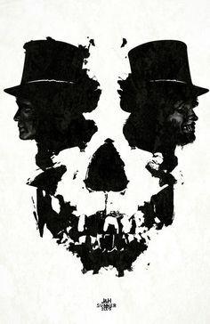 Another Dark and Macabre Skull Optical Illusion - http://www.moillusions.com/another-dark-and-macabre-skull-optical-illusion/?utm_source=Pinterest&utm_medium=Social