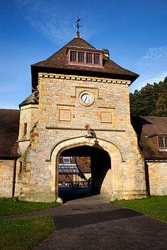 Visitor Centre Cragside Rothbury Northumberland England