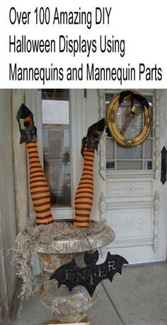 Budget Friendly Halloween Displays