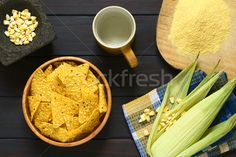 Tortilla Chips with Ingredients stock photo (c) ildi (#5396205) | Stockfresh