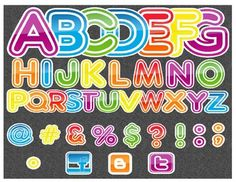 Alphabet Stickers Clip Art Collection by The 3AM Teacher image 2