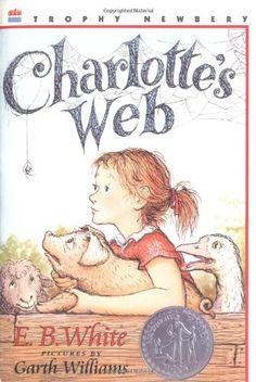 Charlotte's Web (Trophy Newbery) by E. B. White http://www.amazon.com/dp/0064400557/ref=cm_sw_r_pi_dp_OciOtb16ET9CR6GS