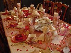 Valentine Tea Party