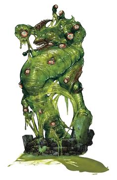 dungeon and dragon ooze - Google Search