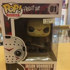 """""""Jason Voorhees from Friday the 13th movies  funko pop #jason #fridaythe13th #voorhees  #funko pop Like this? I'm selling it on @depopmarket. Search for me: diversions on #depop ✌ """" Photo taken by @diversionsgifts.co.uk on Instagram, pinned via the InstaPin iOS App! http://www.instapinapp.com (07/17/2015)"""