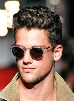 The Latest Mens Curly Hairstyles | Medium Length Hairstyles  Http://easyhairbeauty.com