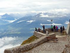 INNSBRUCKKKK View over Innsbruck from the Hafelekar