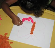 Play Dough Mosaics !! ~ Putti's World -kids-activities