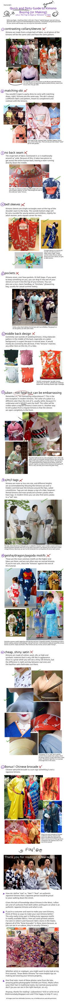 Super helpful guild to real or fake kimono. Check out her blog too. It's really great.