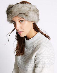 0e6720e92fd Faux Fur Headband Faux Fur Headband