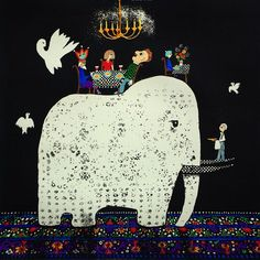 Greg Hyde - Elephant in the Room - Silk Screen Melbourne Art, Melbourne Australia, Milk Factory, Paintings I Love, Australian Artists, White Elephant, Limited Edition Prints, Hyde, Contemporary Art