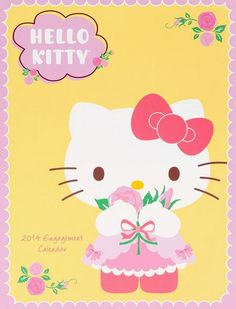 Our 2014 Planner will keep you on your tippy toes hello kitty Hello Kitty Art, Hello Kitty Pictures, Hello Kitty Items, Sanrio Hello Kitty, Sanrio Wallpaper, Hello Kitty Wallpaper, Miss Kitty, Character Wallpaper, Sanrio Characters