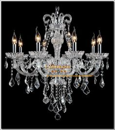 8 Light Crystal Chandelier: High Quality 8 lights Crystal Chandelier Light, Crystal Pendelleuchte Free  Shipping $321.00,Lighting