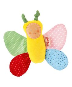 Look what I found on #zulily! Enchanted Meadow Squeaky Butterfly Toy #zulilyfinds