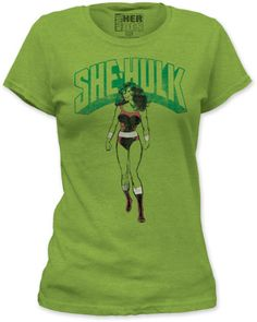 Gotta find a long sleeved green fitted shirt for Hulk costume ... paint/ airbrush 6 pack on it.  If I can't find it, this shirt will have to do (buy small and rip it up, then pair with purple shorts).  Love it.