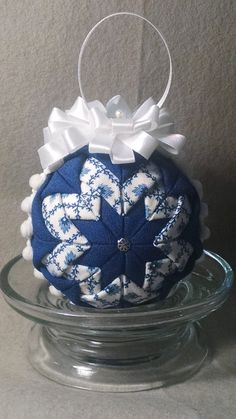 Christmas or decorative ornamental ball by OrnamentBallGirl on Etsy