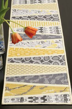 Hey, I found this really awesome Etsy listing at https://www.etsy.com/listing/225931401/reflected-wedges-table-runner-quilt