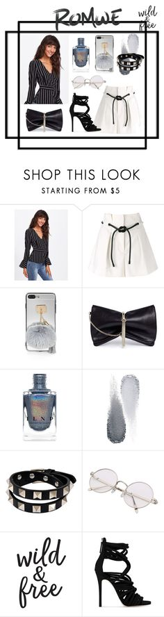 """Casual Saturdays"" by styledbytanvi ❤ liked on Polyvore featuring 3.1 Phillip Lim, Jimmy Choo, Clé de Peau Beauté, Valentino, Giuseppe Zanotti, contest, romwe, polyvorecommunity, fashionset and polvorefashion"