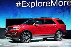 #Ford #Explorer 2016 ไมเนอร์เชนจ์ใหม่เผยโฉมแล้ว-สวยล้ำกว่าเดิม
