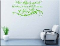 wall stickers frase Voltaire lavoro