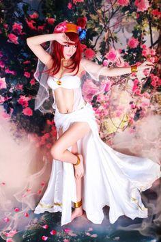 I want to do a Morgiana cosplay so bad