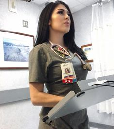 Hot nurse - - Women in Uniform Cute Nurse, Sexy Nurse, Nursing Dress, Nursing Clothes, Foto Doctor, Nursing Goals, Nurse Aesthetic, Nurse Photos, Beautiful Nurse