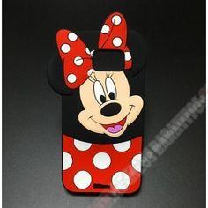 Carcasa 3D silicona diseño nuevo de la Minnie Mouse para Huawei G Play Mini