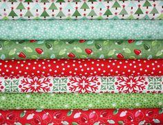 SALE Joy fabric bundle by Kate Spain for Moda -Fat Quarter Bundle- 7 total. $19.25, via Etsy.