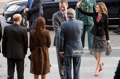 King Felipe VI of Spain and Queen Letizia of Spain attend the Gold Medals of Merit in Fine Arts 2015 ceremony at the Victoria Eugenia theatre on December 5, 2016 in San Sebastian, Spain.  (Photo by Gari Garaialde/Getty Images)