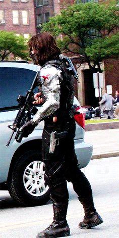 The Winter Soldier - Bucky Barnes (Sebastian Stan) - Captain America: The Winter Soldier Tumblr