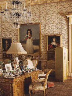 The Duchess of Alba in White by Francisco de Goya, 1795. Photo by Ricardo Labougle for World of Interiors.