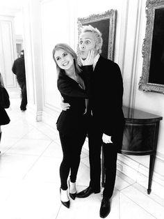 David Anders and Rose McIver