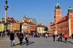 Достопримечательности Варшавы - от Старого города к Королевскому дворцу